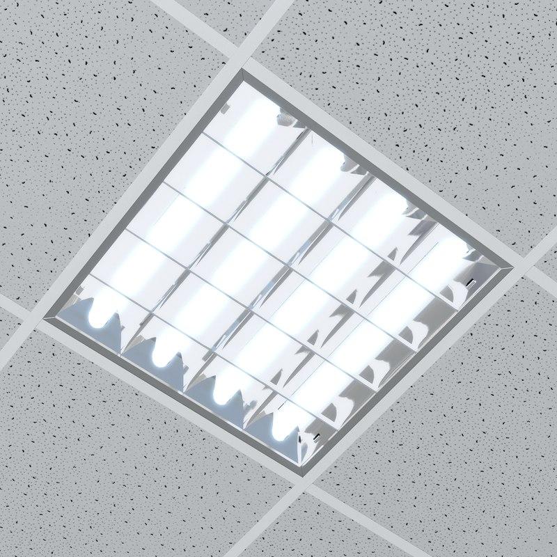 ceiling lamp lighting 3d model