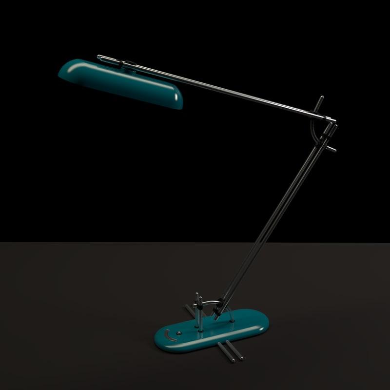 desk lamp 3ds