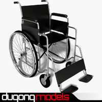 3ds max dugm04 wheelchair