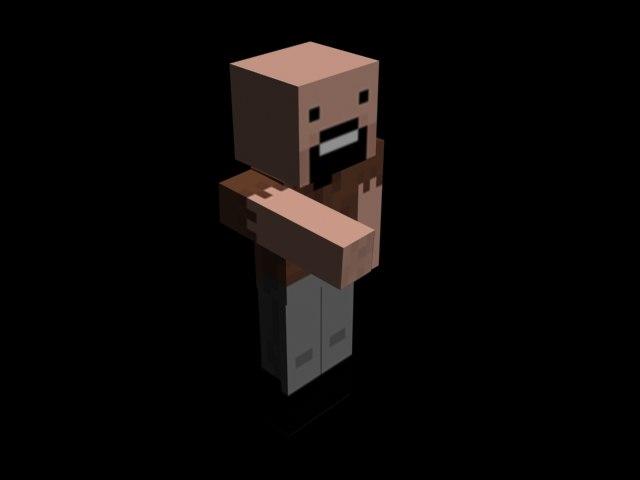 notch minecraft fbx