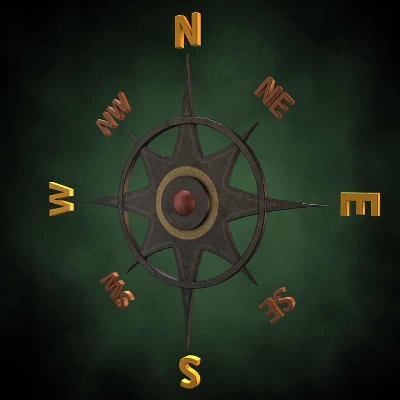 3dsmax compass roses