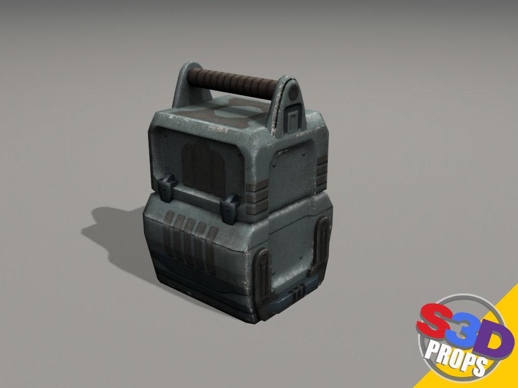 sci-fi metal crate max