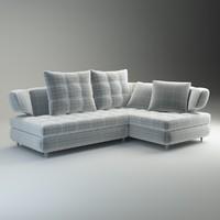 sofa nikol 3d model