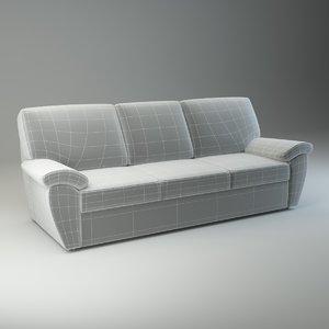 3d model basic sofa senator