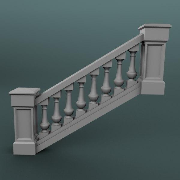 max staircase balustrade