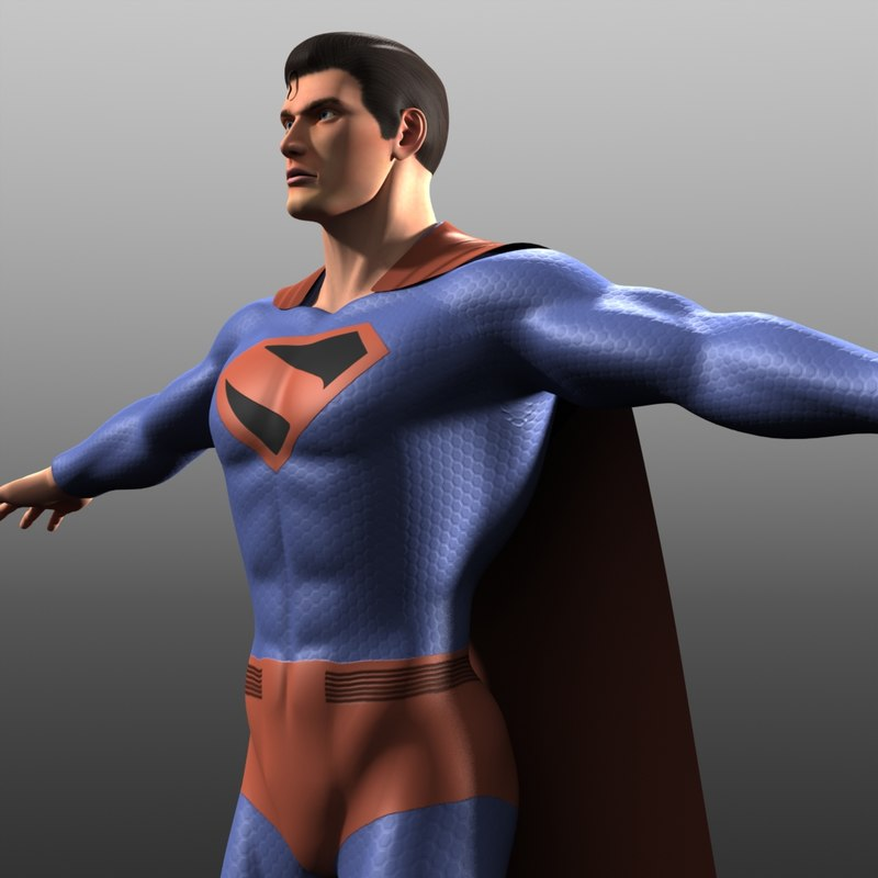 original costume kingdom come 3d model