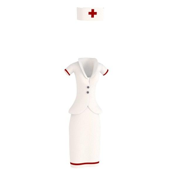 3ds max clothes nurse