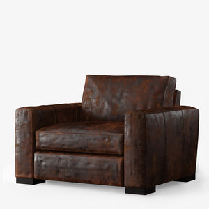 maxwell leather armchair max