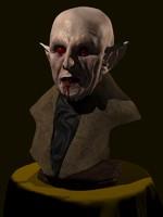 bust nosferatu vampire max