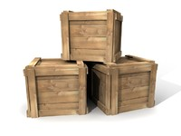 Stack of Simple Crates