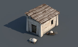 3ds max stonemason building
