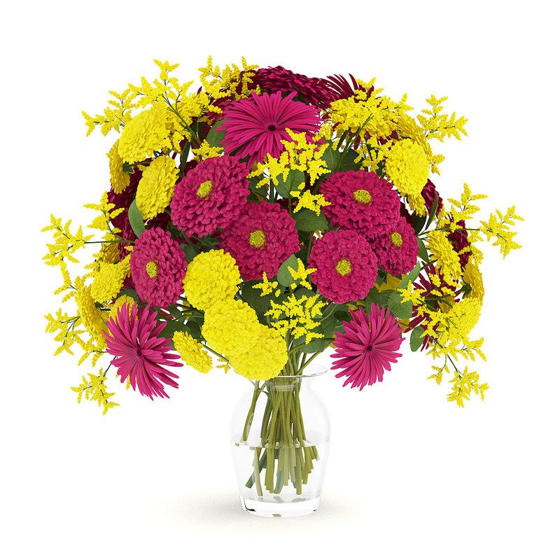 flower bouquet vase