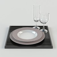 3d dishes restaurants