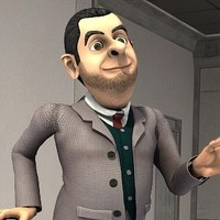 3d model character mr bean