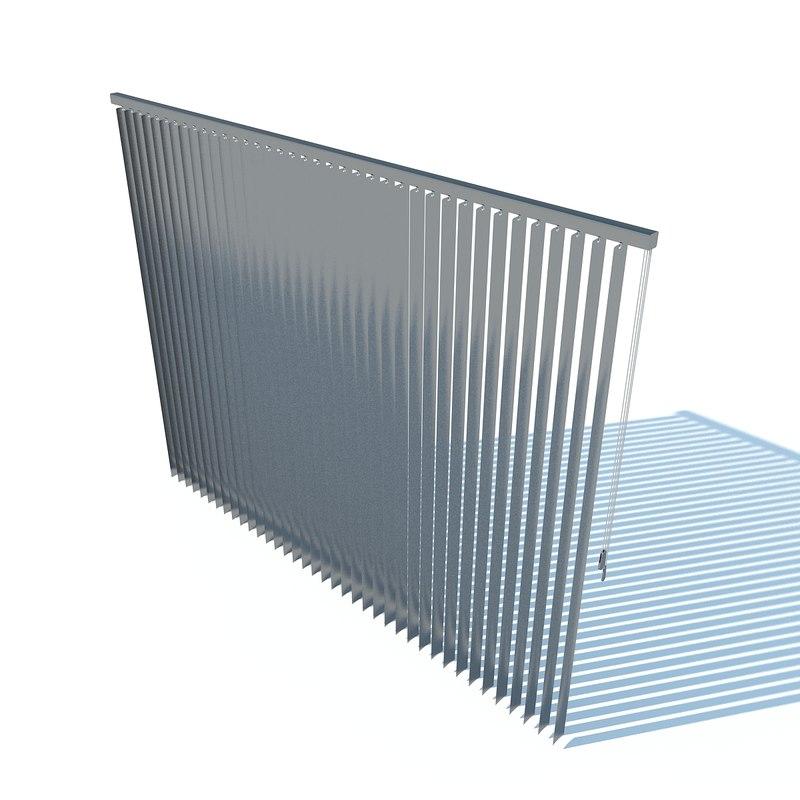 vertical blinds 2011 c4d