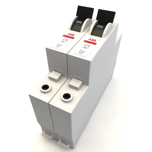 3d abb circuit breaker model