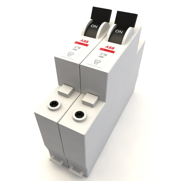 3d abb circuit breaker model