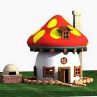 Mushroom House 1 (Smurfs)