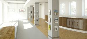reception design 3d max