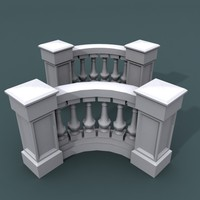 3d curve balustrade bend