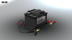 3d battery clamps