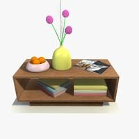 3d table decor model