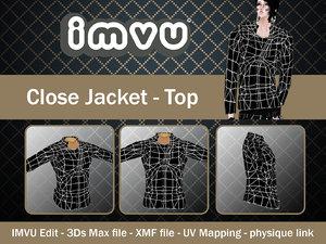 3ds max jacket imvu file