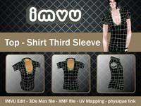 Top - Shirt Third Sleeve