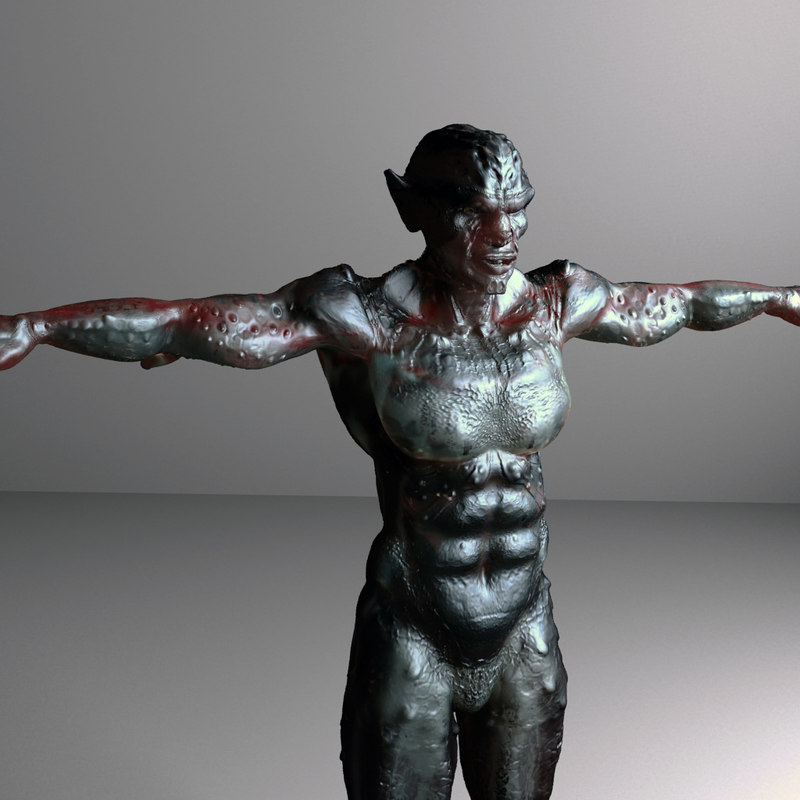 3d model creature films video