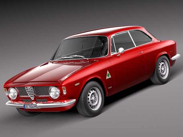 3d model alfa romeo giulia gta