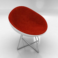 3dsmax bucket chair