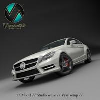 Mercedes Benz CLS CDI 2012 studio