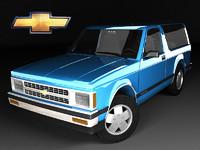 Chevrolet S-10 Blazer 3d FL Mk1