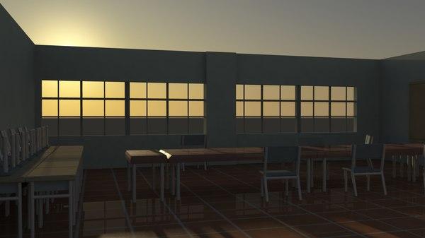 3d committee room model