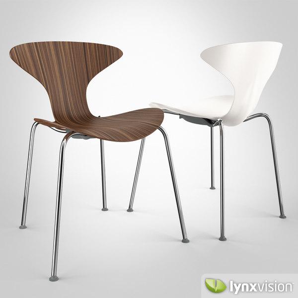3d orbit chair ross lovegrove model