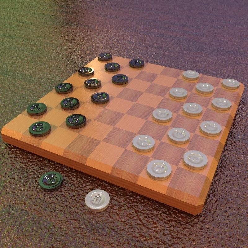draughts checkers max