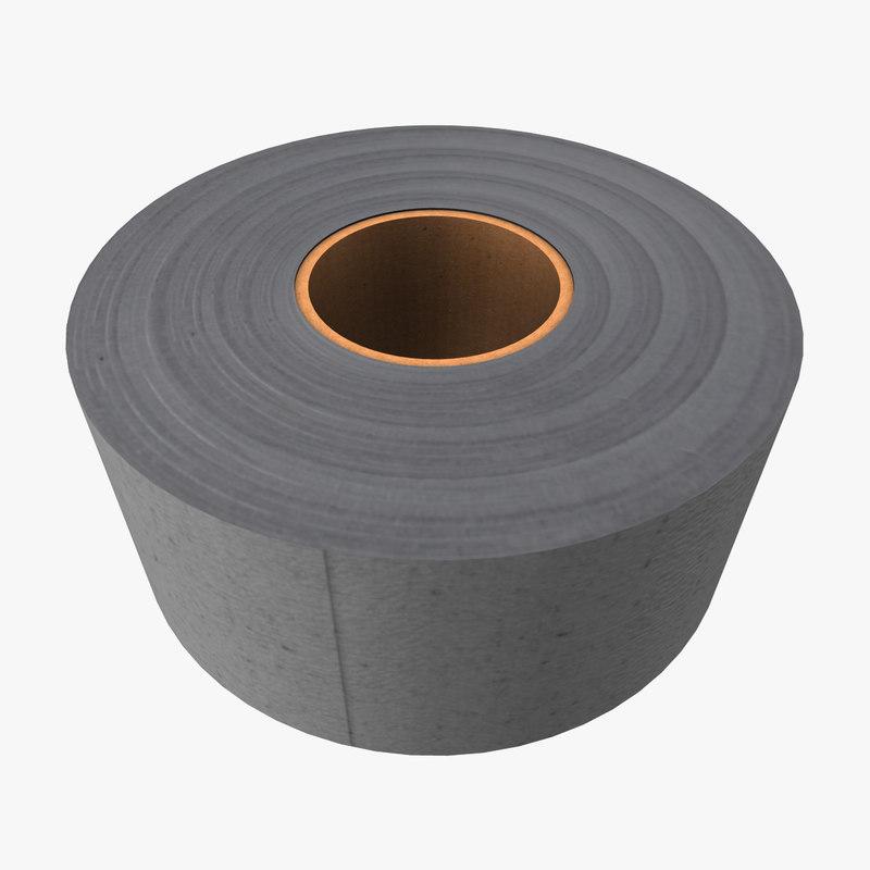 generic duct tape 3d obj