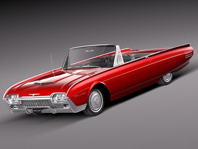 3d thunderbird luxury 1961