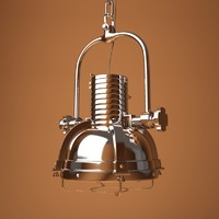 hanging lamp jambo 3d 3ds