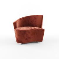free 3ds model bilbao armchair