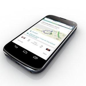 3d model of google nexus 4