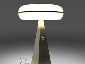 max golden torchere lamp