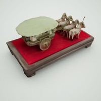 chinese horserider 3d model