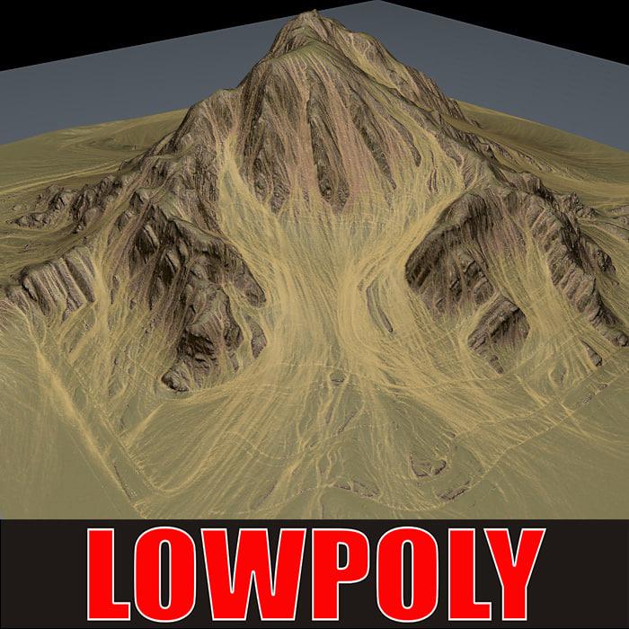 mountain maps terrain c4d
