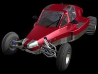 3d model razor v2 road