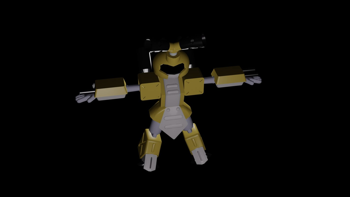3ds max metabee cartoon medabots