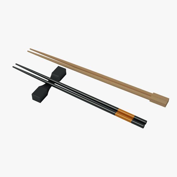 sushi sticks 3d max