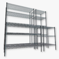 3d model wire shelving kit
