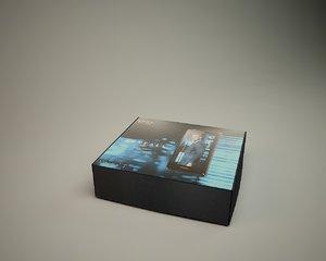 3d xperia box model