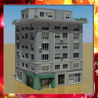 3d building 33 model